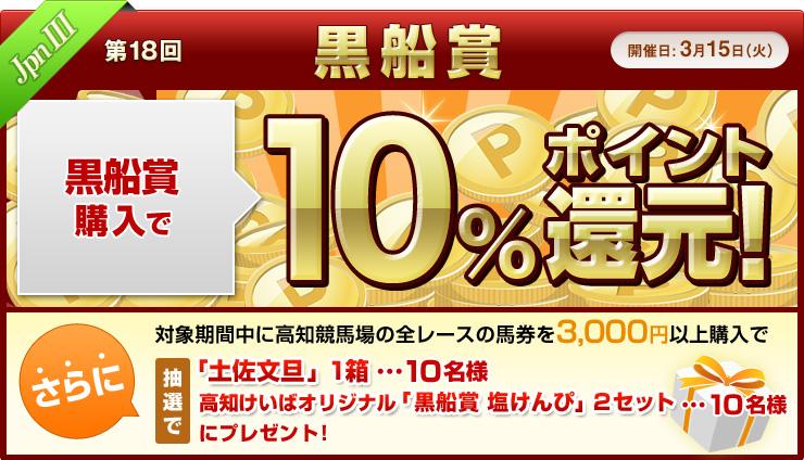 ダートグレード競走キャンペーン 黒船賞(JpnIII)