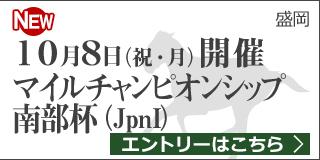 【盛岡】ダートグレード競走:マイルチャンピオンシップ南部杯